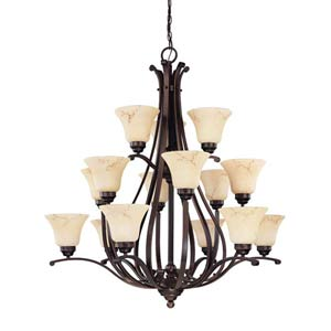 Anastasia Twelve-Light Chandelier