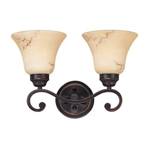 Anastasia Two-Light Bath Fixture