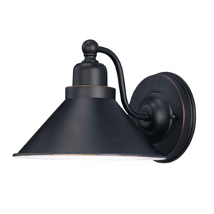 Bridgeview Mission Dust Bronze One-Light Bath Fixture