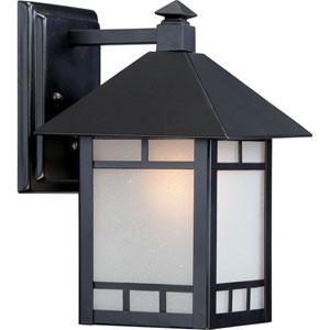 Drexel ES Stone Black 7-Inch One-Light Outdoor Wall Lantern