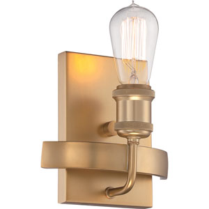 Paxton Natural Brass One-Light Wall Sconce