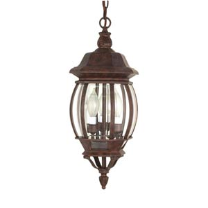 Central Park Old Bronze Outdoor Hanging Pendant