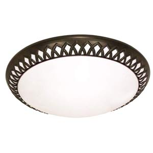 Rustica Medium Energy Star Flush Mount