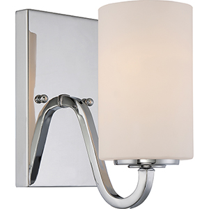 Willow Polished Nickel One-Light Vanity
