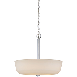 Willow Polished Nickel Four-Light Pendant