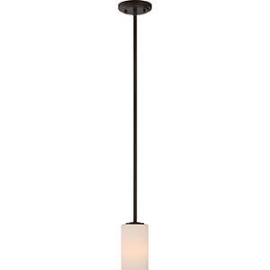 Willow Forest Bronze One-Light Mini Pendant
