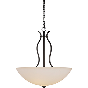 Dillard Forest Bronze Four-Light Pendant