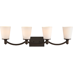 Laguna Forest Bronze Four-Light Vanity