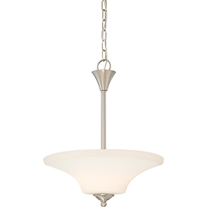 Fawn Brushed Nickel Two-Light Pendant