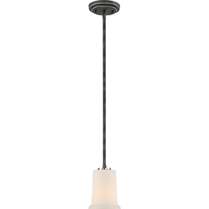 Chester Iron Black One-Light Mini Pendant