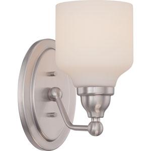 Kirk Polished Nickel One-Light LED Bath Sconce