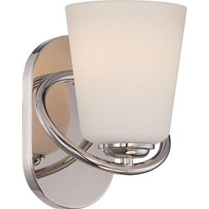 Dylan Polished Nickel One-Light LED Bath Sconce