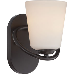 Dylan Mahogany Bronze One-Light LED Bath Sconce