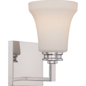 Cody Polished Nickel One-Light LED Bath Sconce