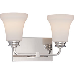 Cody Polished Nickel Two-Light LED Vanity