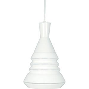 Vortex White One-Light Pendant