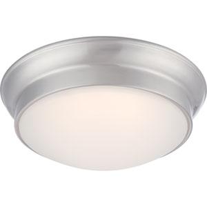 Conrad Brushed Nickel One-Light LED Flush Mount