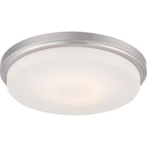Dale Brushed Nickel One-Light LED Flush Mount