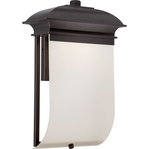 Foster Mahogany Bronze One-Light LED Outdoor Wall Sconce