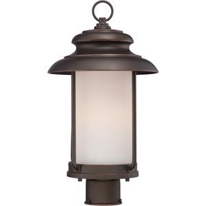 Bethany Mahogany Bronze One-Light LED Outdoor Post Mount