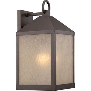 Haven Mahogany Bronze 8.5-Inch One-Light LED Outdoor Wall Lantern