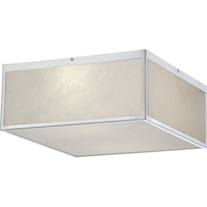 Crate Brushed Nickel 14-Inch LED Flush Mount