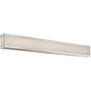 Crate Brushed Nickel 36-Inch LED Vanity