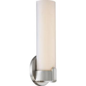 Loop Brushed Nickel Single LED Vanity