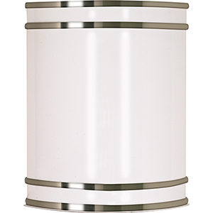 Glamour Brushed Nickel 9-Inch LED Vanity