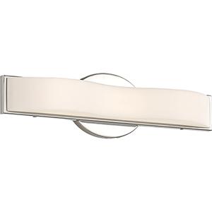 Surf Polished Nickel 16-Inch LED Vanity