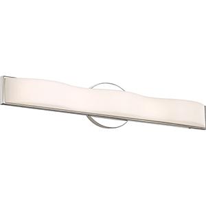 Surf Polished Nickel 26-Inch LED Vanity