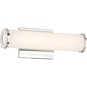Saber Polished Nickel 12-Inch LED Vanity