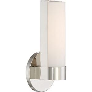 Bond Polished Nickel 10-Inch LED Vanity