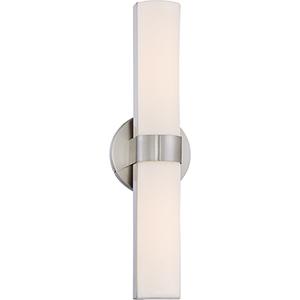 Bond Brushed Nickel 18-Inch LED Vanity