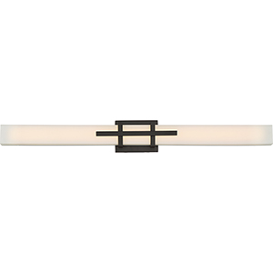 Grill Aged Bronze LED Vanity