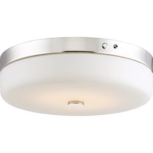 Polished Nickel Energy Star LED Flush Mount