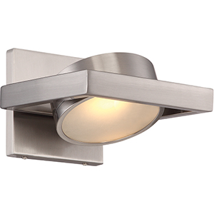 Hawk Brushed Nickel LED Vanity