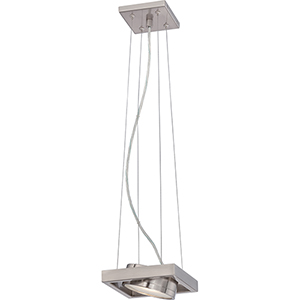 Hawk Brushed Nickel LED Pendant