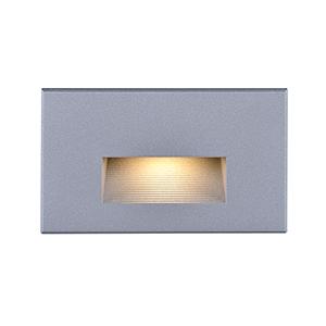 Gray LED Outdoor Horizontal Step Light