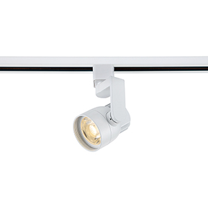 White LED Track Head with 36 Degree Beam