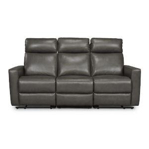 Gray Power Motion Reclining Sofa