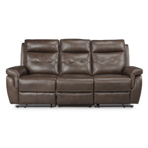 Brown Power Motion Reclining Sofa