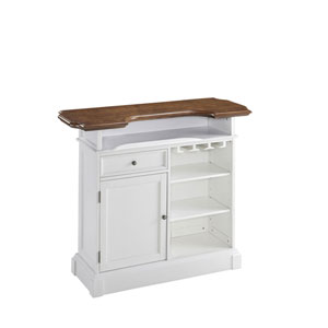Americana White/Oak Bar
