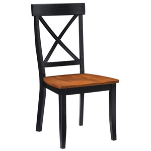 Black Dining Chair, Set of Two