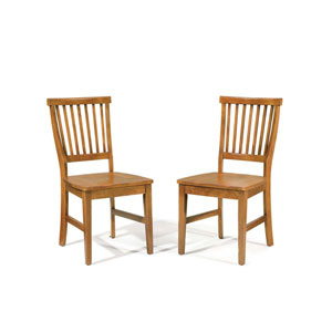 Arts and Crafts Side Chair, Set of Two