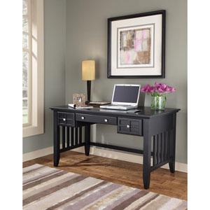 Arts and Crafts Black Executive Desk