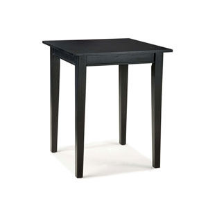 Arts and Crafts Bistro Table Black Finish