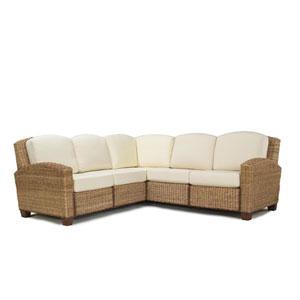Cabana Banana Honey Oak L-Shaped Sofa