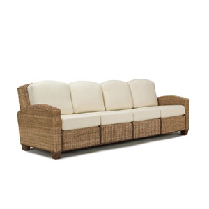 Cabana Banana Honey Oak Four-Seat Sofa