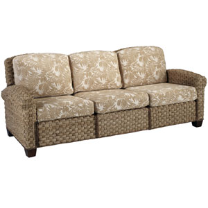 Cabana Banana II Honey Three-Seat Sofa